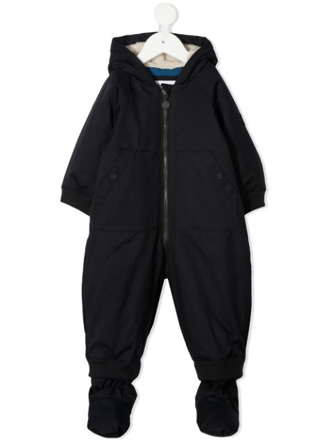 Bonpoint all-in-one baby padded coat