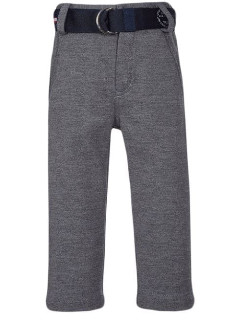 Lapin House belted fitted trousers
