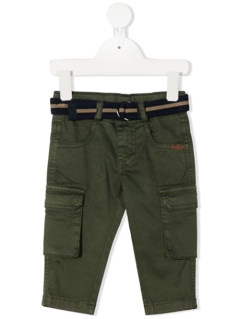 Lapin House belted cargo trousers