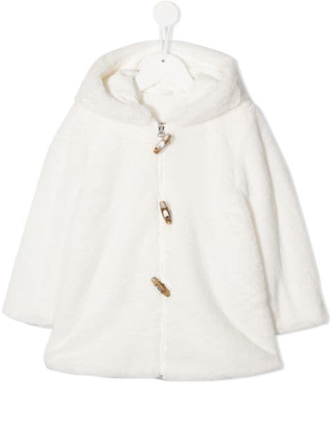 Lapin House teddy zip-up jacket