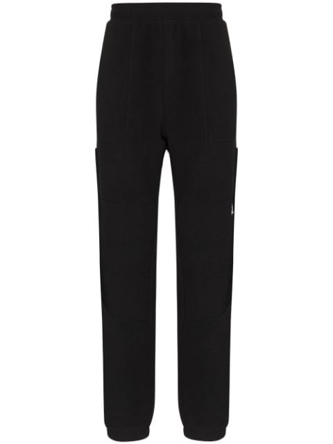The North Face logo-embroidered fleece track pants