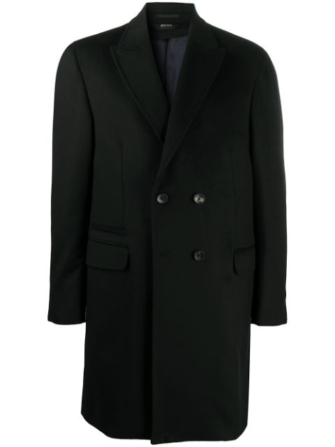 Z Zegna double-breasted coat