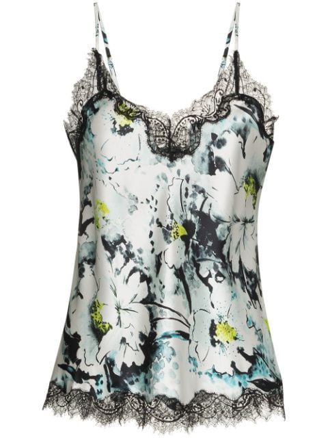 Sainted Sisters Scarlett lace-trimmed camisole