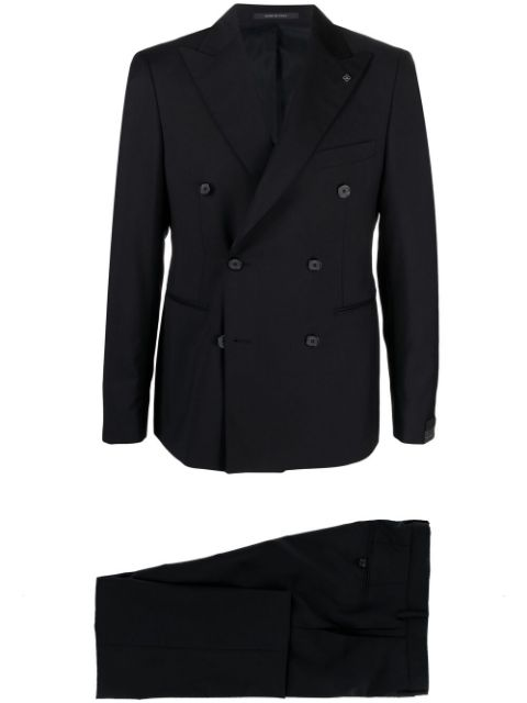Tagliatore double-breasted tailored suit