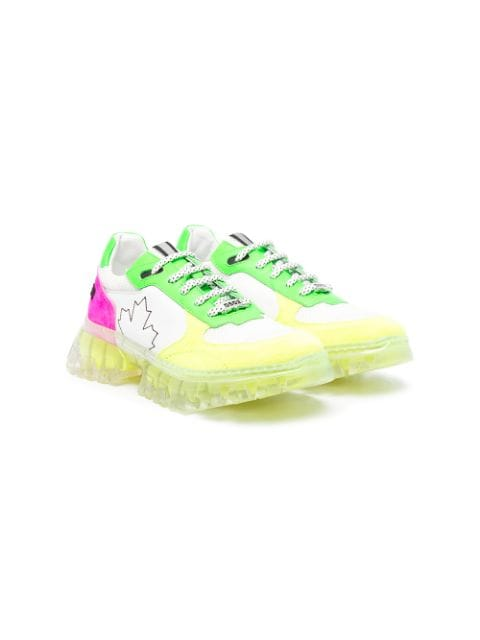 Dsquared2 Kids TEEN colour-block sneakers