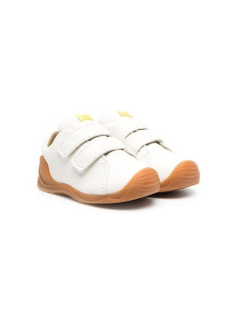 Camper touch-strap leather sneakers