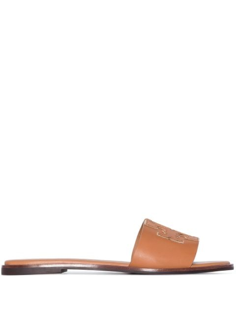 Tory Burch Ines flat leather sandals