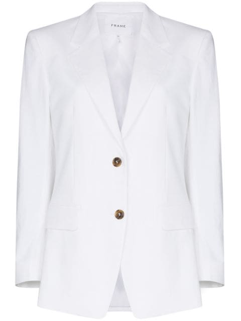 FRAME notched-lapel single-breasted blazer