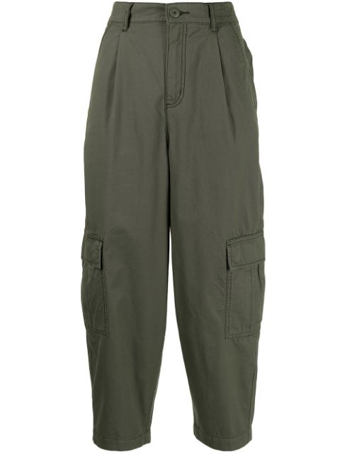izzue tapered-leg trousers