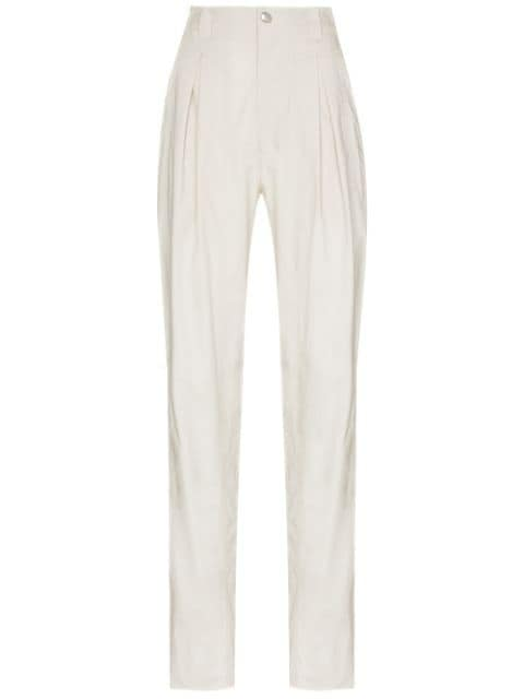 Isabel Marant Kilandy tapered trousers