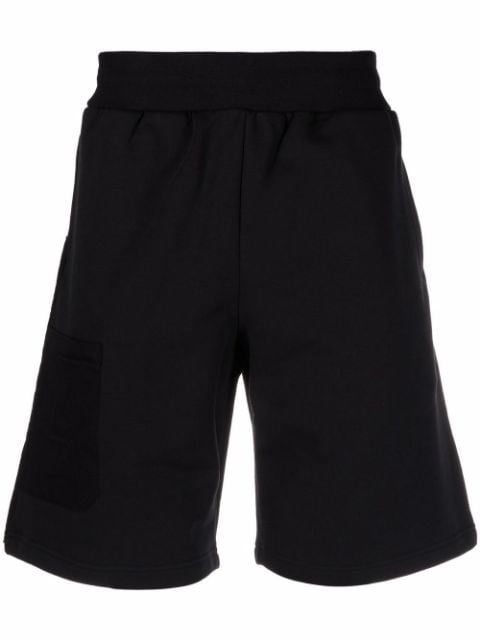 A-COLD-WALL* logo-embroidered cotton shorts