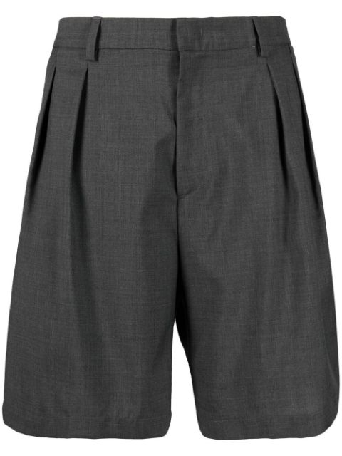 Low Brand pleat-detail tailored shorts