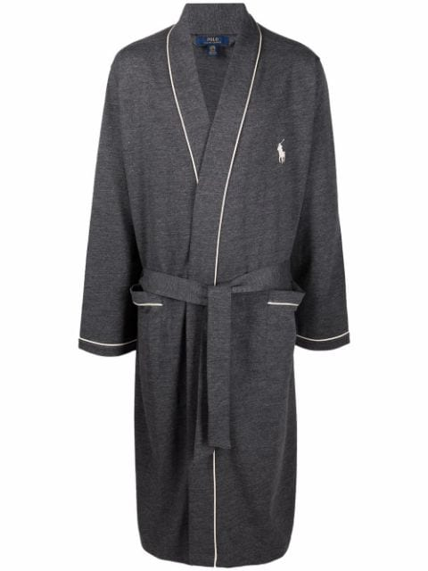 Polo Ralph Lauren embroidered pony robe