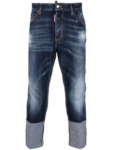 Dsquared2 Skater distressed-effect jeans