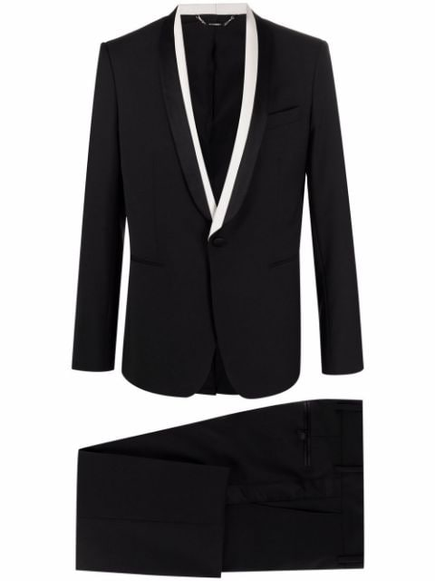 Les Hommes two-piece single-breasted suit