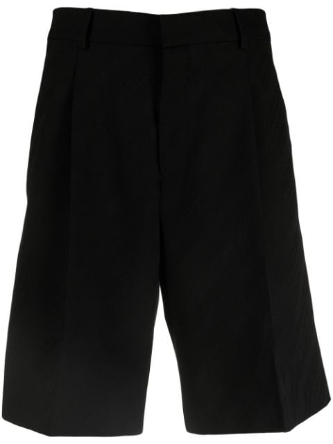 Givenchy all-over logo tailored shorts