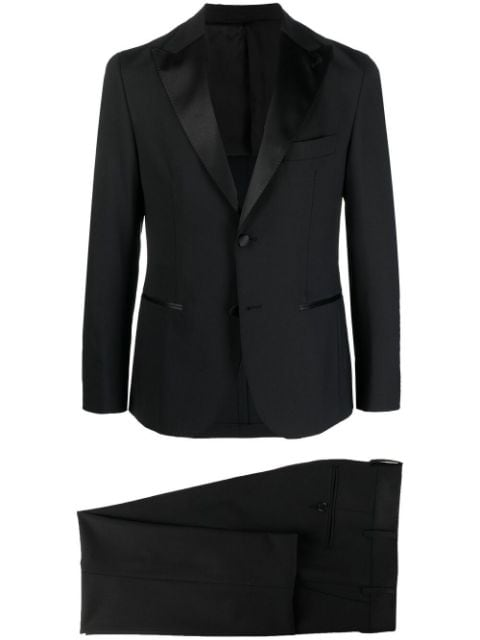 Eleventy single-breasted wool suit