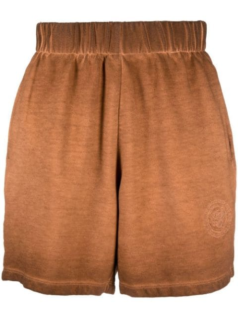 Opening Ceremony gradient-effect cotton track shorts