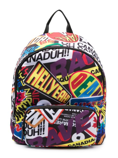 Dsquared2 Kids graphic-print zipped backpack
