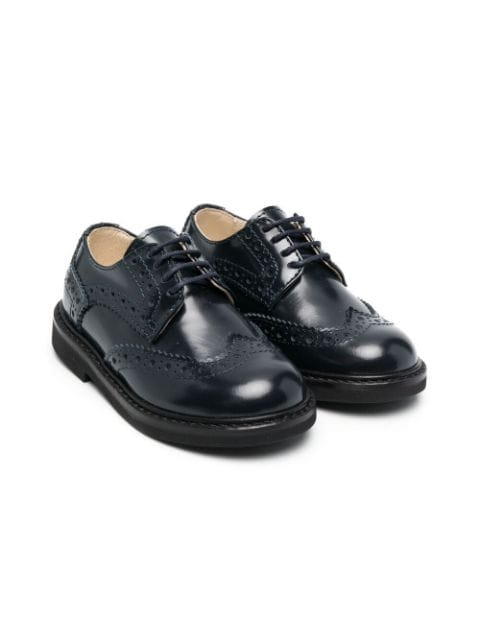 Montelpare Tradition leather lace-up brogues