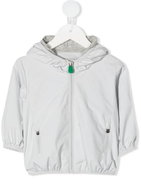 Save The Duck Kids zipped hooded jacket