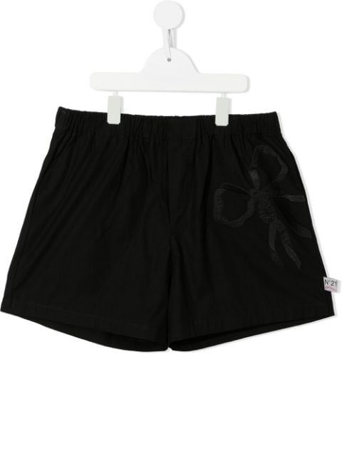 Nº21 Kids TEEN fitted shorts
