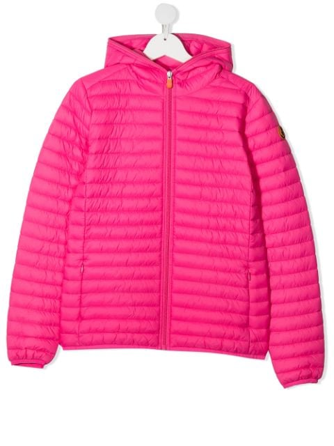 Save The Duck Kids TEEN hooded padded jacket