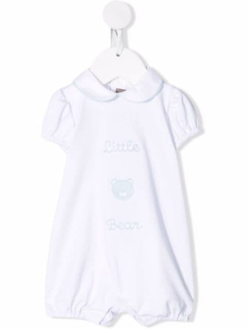 Little Bear embroidered cotton shorties