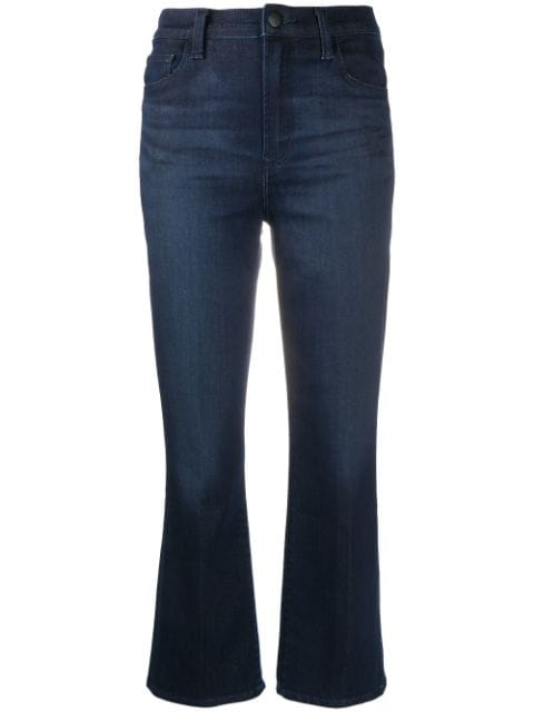 J Brand fitted cropped jeans