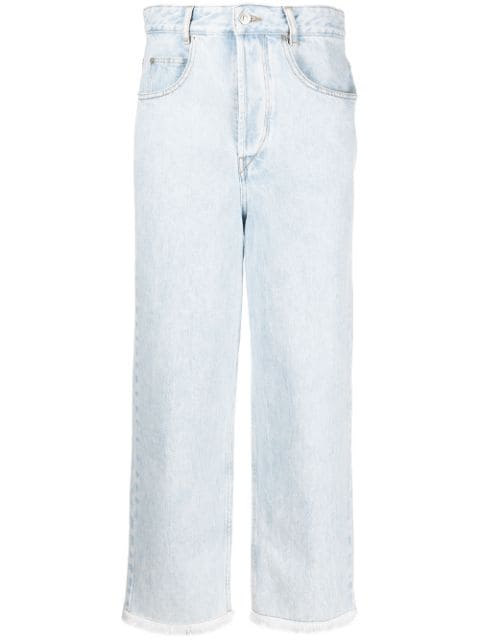 Isabel Marant Étoile high-rise cropped jeans