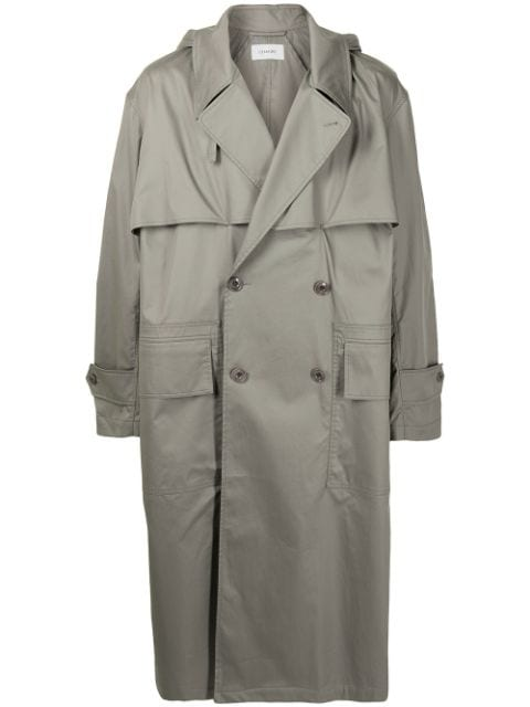 Lemaire oversized double breasted coat