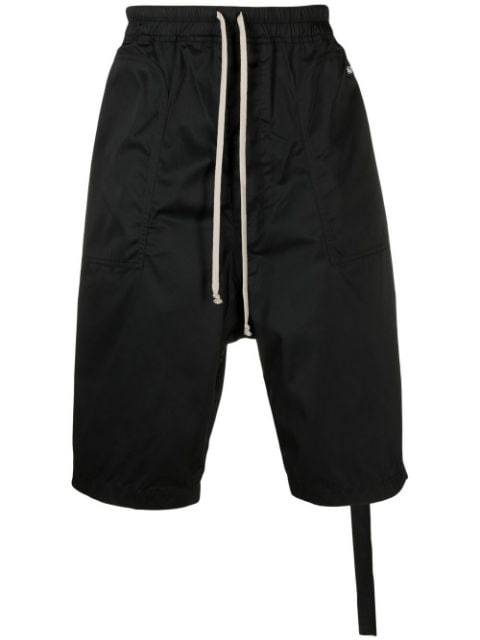Rick Owens DRKSHDW drop-crotch slouched trousers