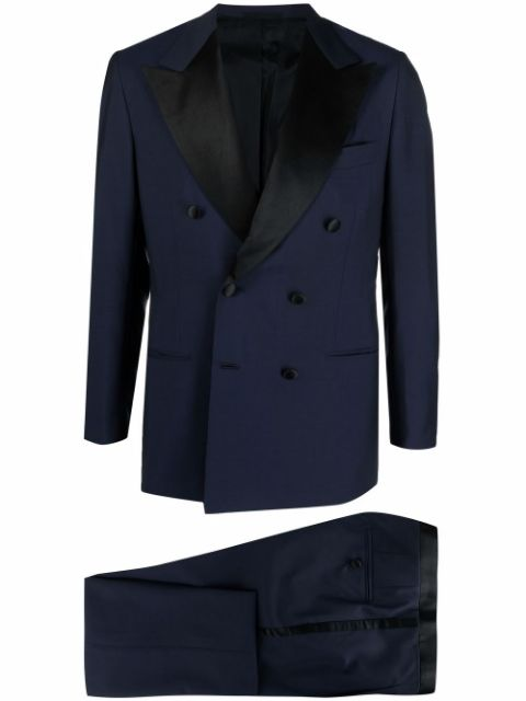 Kiton double-breasted dinner suit