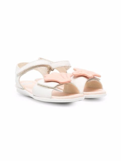Camper Twins seashell touch-strap sandals