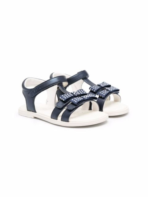 Geox Kids chunky touch-strap sandals