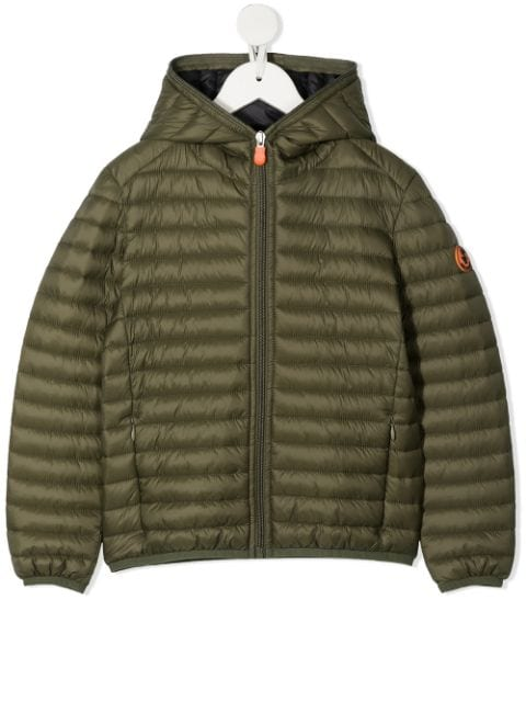 Save The Duck Kids padded hooded jacket