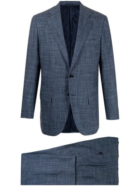 Kiton two-piece single-breasted suit