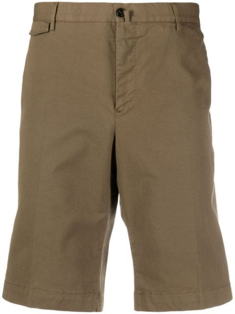 Pt01 stretch-fit tailored shorts