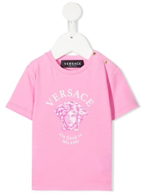 Young Versace تيشيرت بطبعة ميدوسا