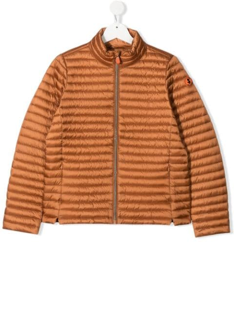 Save The Duck Kids padded zipped jacket