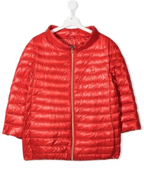 Herno Kids TEEN quilted downfilled jacket