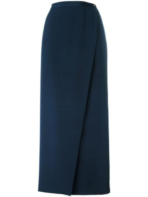 Chanel Pre-Owned 2000 wrap long skirt