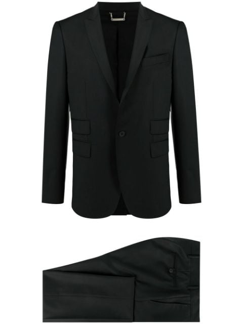 Les Hommes single-breasted two-piece suit