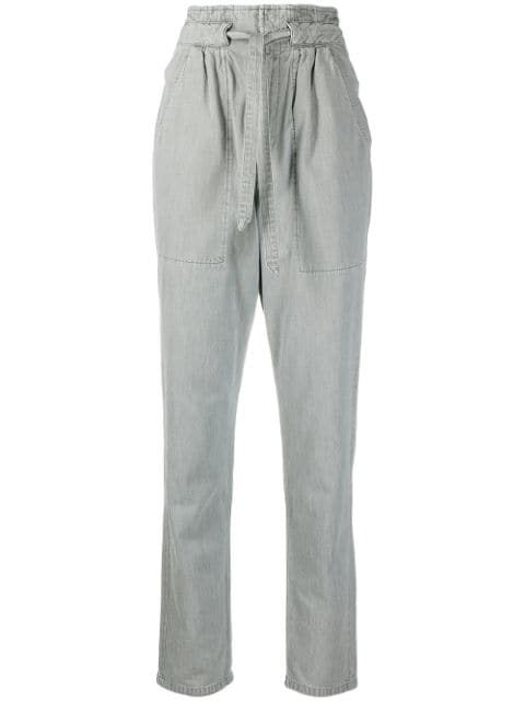 Isabel Marant Étoile high-waisted tapered trousers