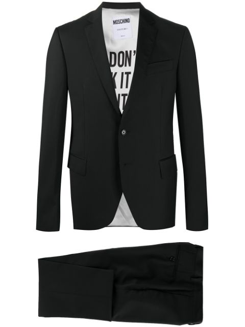 Moschino single-breasted suit