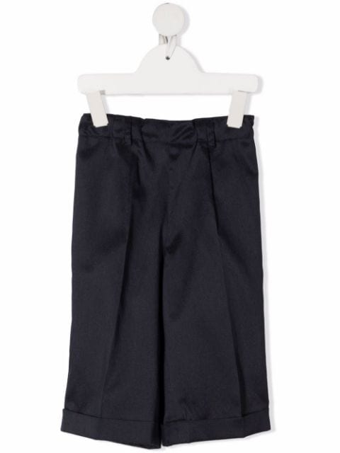Siola knee-length tailored shorts
