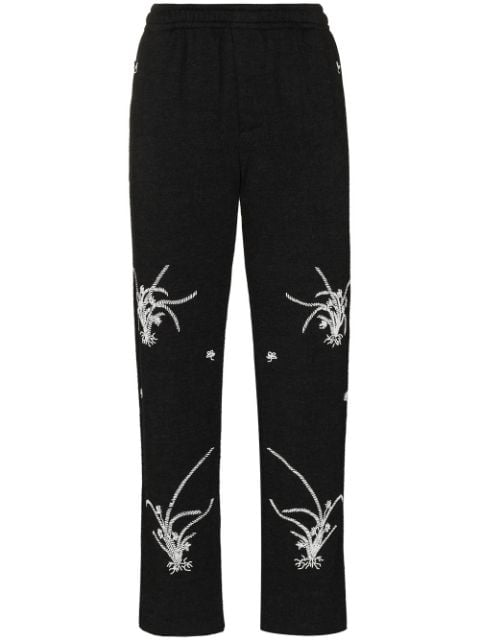 Bode Garden knitted trousers