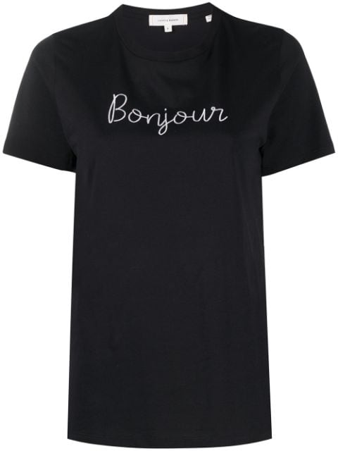 Chinti and Parker Bonjour organic cotton T-shirt