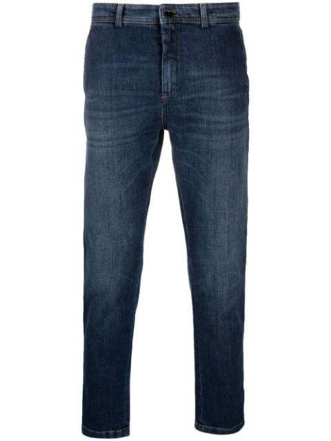 Department 5 cropped slim-fit jeans