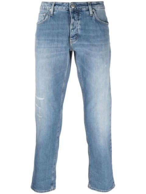 Haikure mid-rise cropped jeans
